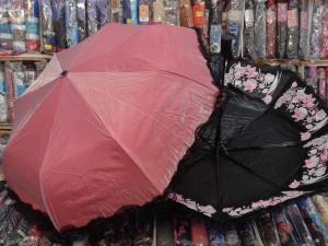 Фото  Женский зонт: