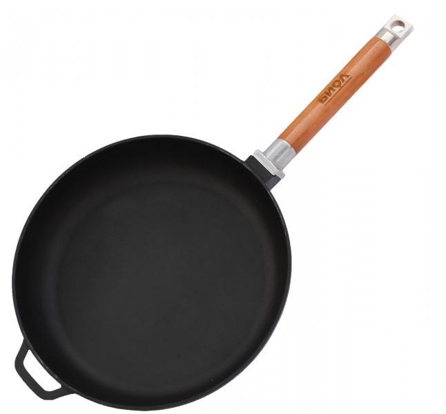 Сковорода чугунная Биол 22 см