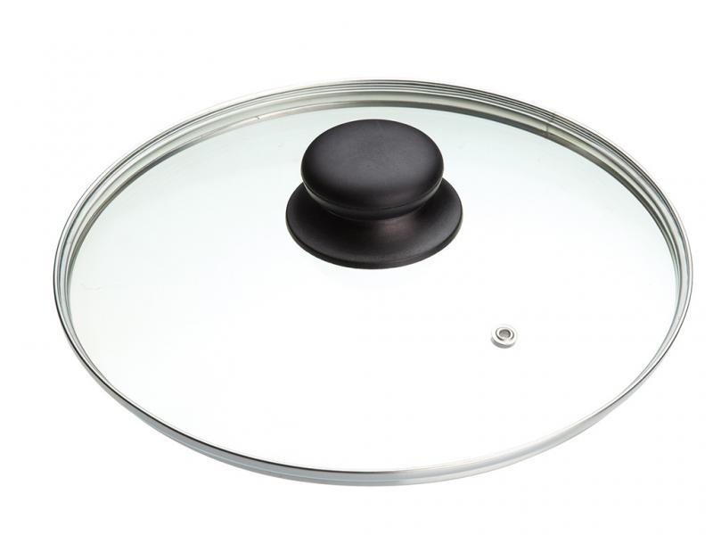 Крышка для сковороды стеклянная 24 см