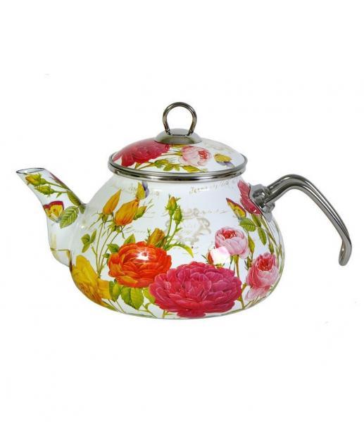 Чайник Интерос 2,2л Розовый рай