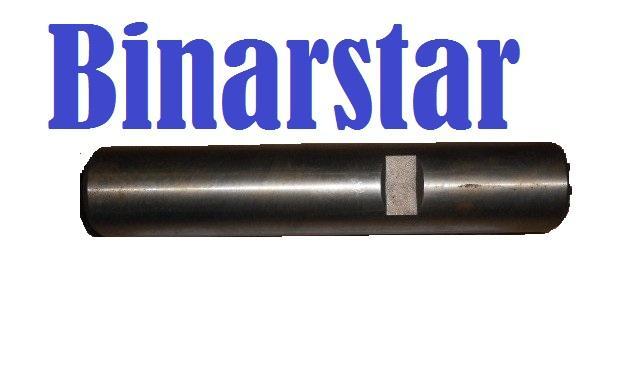 3001019 Шкворень поворотного кулака с пазами автобус НЕМАН