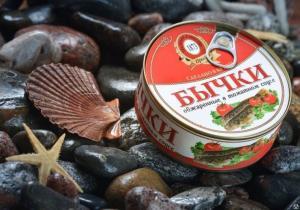 Фото Рыбные консервы Бычки в т/с ТМ  Пролив