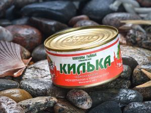 Фото Рыбные консервы Килька в т/с ВоСтоКрат