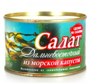 Фото Рыбные консервы Салат из морск.капусты Лаперуз
