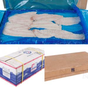 Фото Свежемороженая рыба Минтай филе сухой заморозки