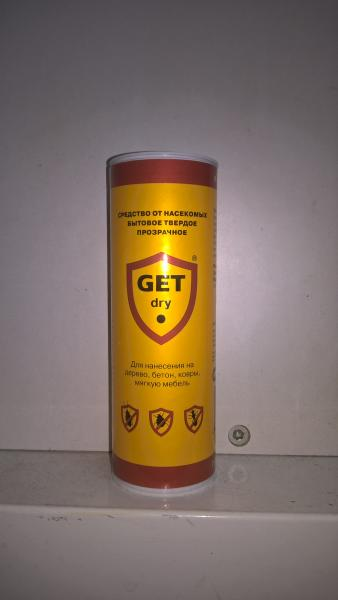 GET® (ГЕТ)  Мыло инсектицидное  95 гр.
