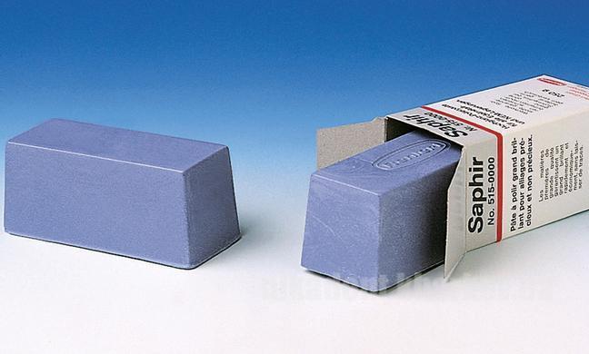 Фото Для зуботехнических лабораторий, МАТЕРИАЛЫ, Полировочные материалы и пасты Pasta Saphir (Паста Сапфир голубая) 250г (Ренферт)