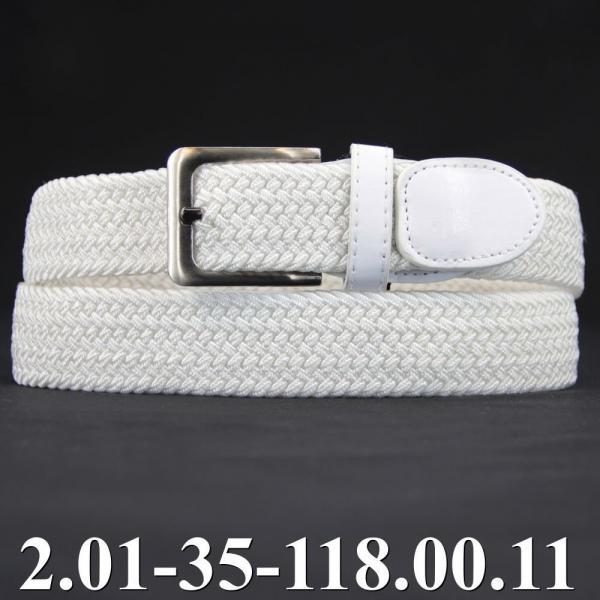 2.01-35-118.00.11 ремень классика текстиль белый