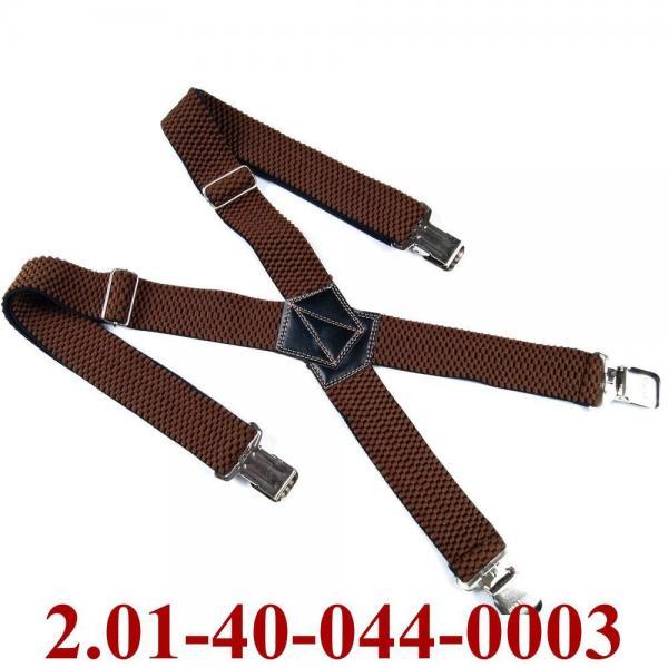2.01-40-044-0003 подтяжки взрослые коричневый