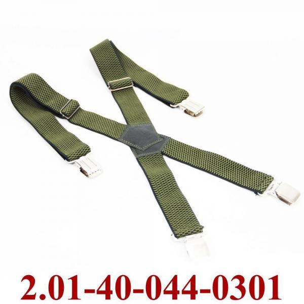 2.01-40-044-0301 подтяжки взрослые св.зеленый