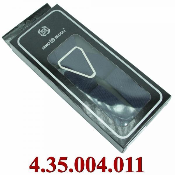 4.35.004.011 подтяжки в черной коробке однотон сине-ч