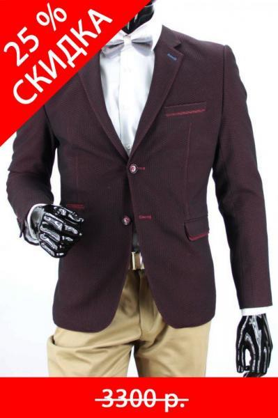 5189 пиджак Р8.9 п приталеный