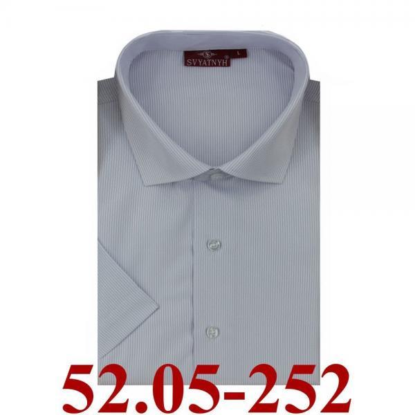 52.05-252 сорочка притал св.сирен микрополос корот