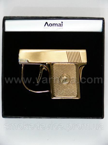Пистолет-зажигалка AOMAI, 6,5см в подарочной коробке