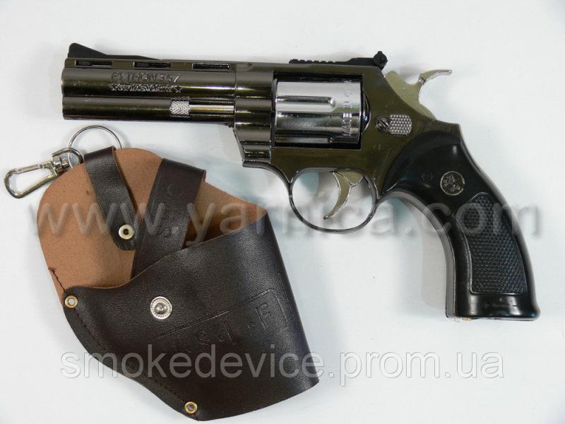 Револьвер-зажигалка в кобуре, 20см