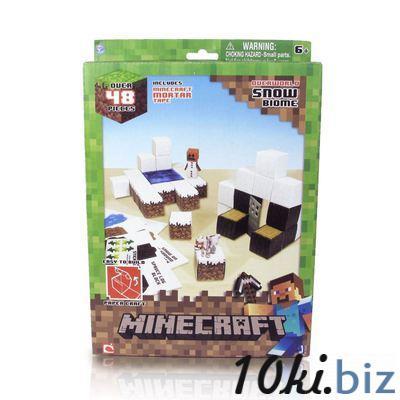 """Бумажный конструктор """"Minecraft Papercraft"""" Игровой мир """"Снежный биом"""" 48 деталей Конструкторы в Самаре"""