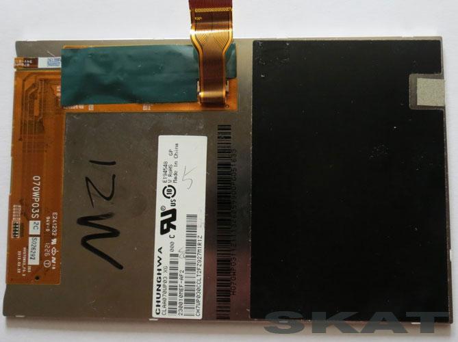 Дисплей E194548 CLAA070WP03 XG