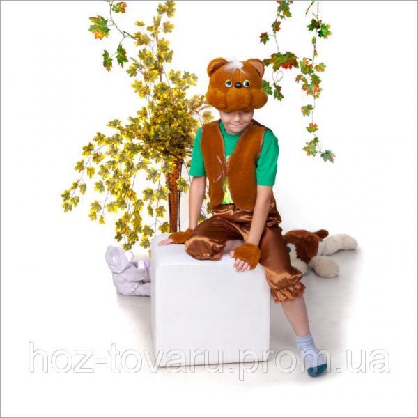 Детский карнавальный костюм Мишка Медвежонок бурый