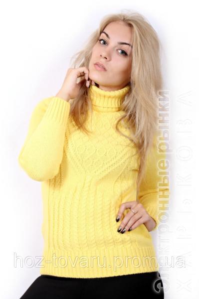свитер женский вязаный 1540 женские свитера водолазки гольфы