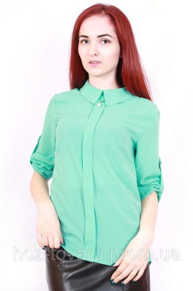 Блуза шифоновая 367 мята