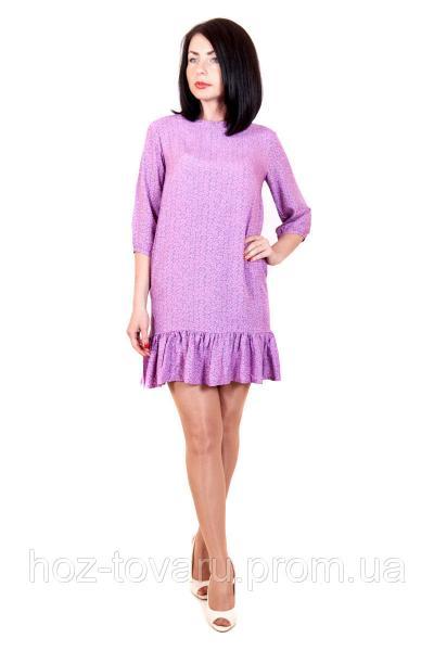 Платье летнее 402 (2 цвета), летнее платье, платье в цветочек, платье из хлопка, дропшиппинг по украине
