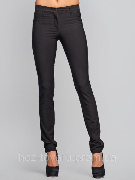 Брюки классика 6061, классические женские брюки, черные брюки женские,  дропшиппинг украина