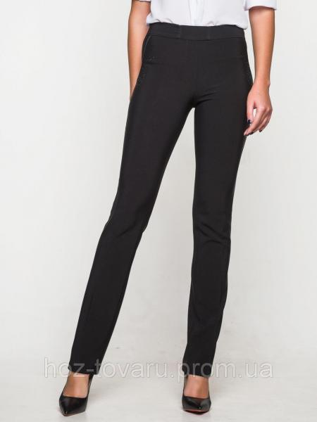 Брюки классика 60162, классические женские брюки, черные брюки женские,  дропшиппинг украина