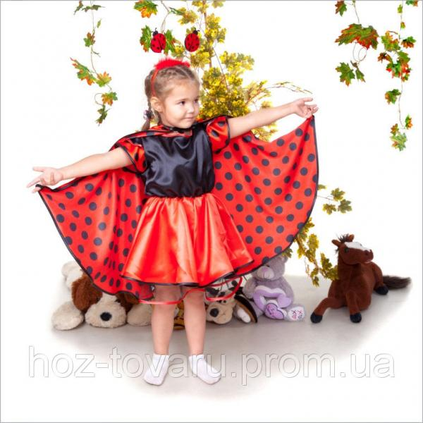 Детский карнавальный костюм Божья Коровка, костюм божьей коровки, новогодний костюм божья коровка дропшиппинг