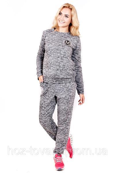 Спортивный костюм Нашивка Буква М, трикотажный спортивный костюм женский, дропшиппиг