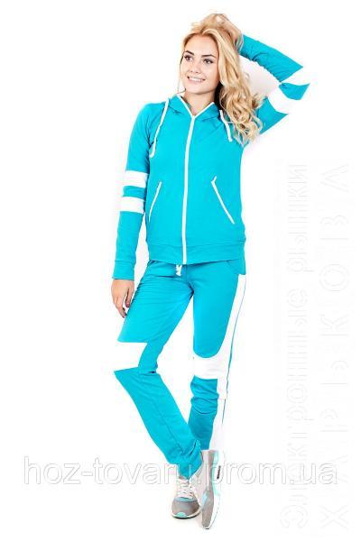 Спортивный костюм Двухцветный (4 цвета), трикотажный спортивный костюм, дропшиппинг поставщик