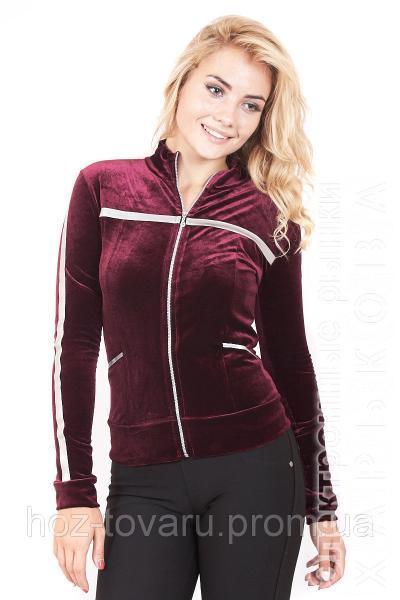 1081b575 Мастерка женская велюровая 187 (3 цвета), женская одежда от производителя,  недорого, ...