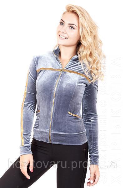 3e2123394a51 ... Мастерка женская велюровая 187 (3 цвета), женская одежда от  производителя, недорого,