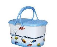 Корзина для пикника элиф рисунок аквариум