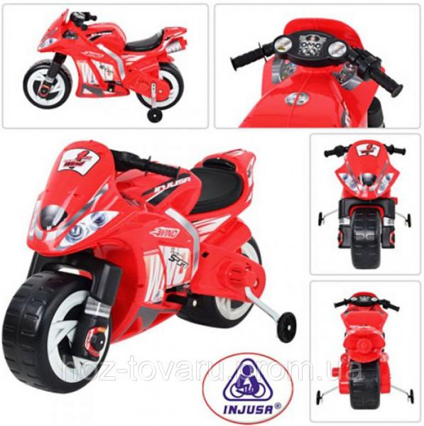 Аккумуляторный мотоцикл 646 6V INJUSA Wind