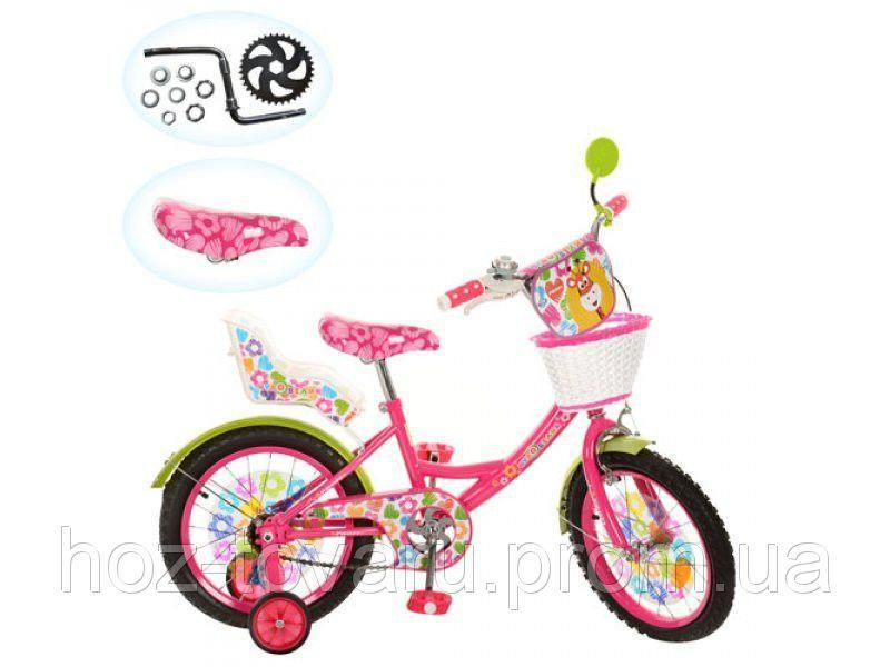 Велосипед  детский 16д. ЧУДО ОСТРОВ LE-2-02B