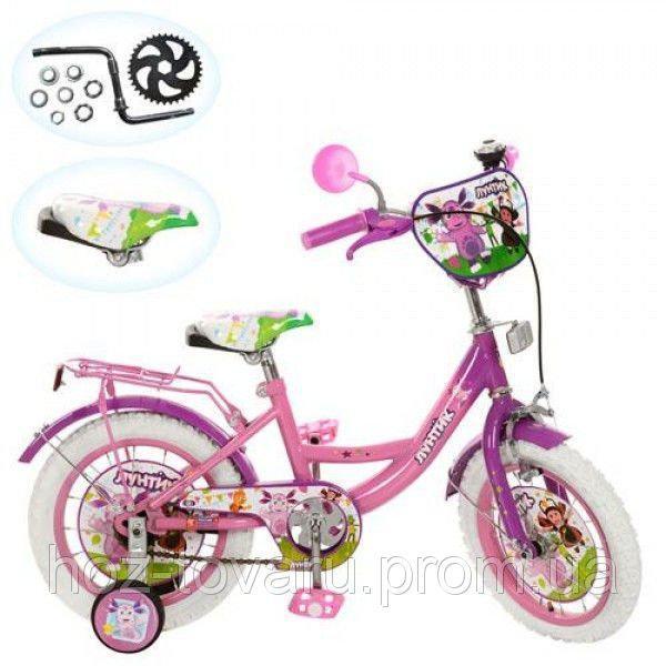 Велосипед детский 16д. Лунтик LT 0052-02