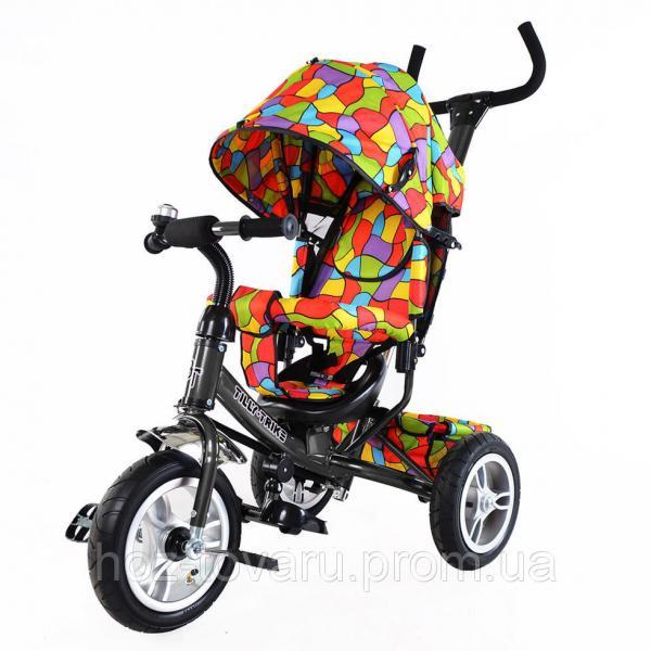 Велосипед трехколесный TILLY Trike T-351-1 (2 цвета) с большими надувными колесами