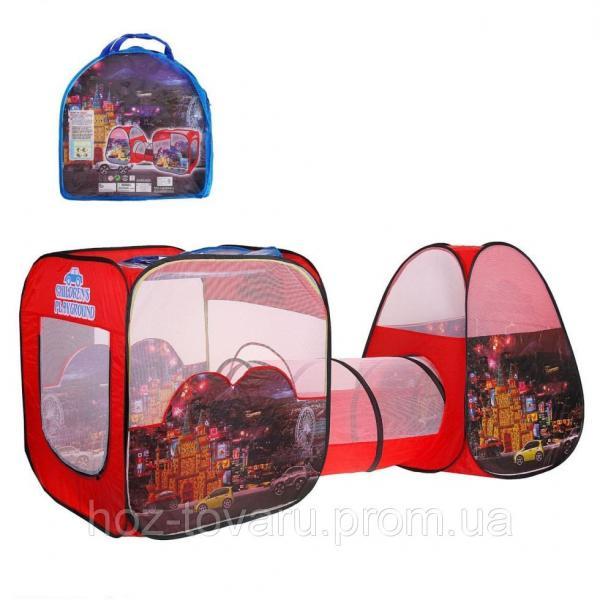 Двойная детская палатка с тоннелем SG7015-4