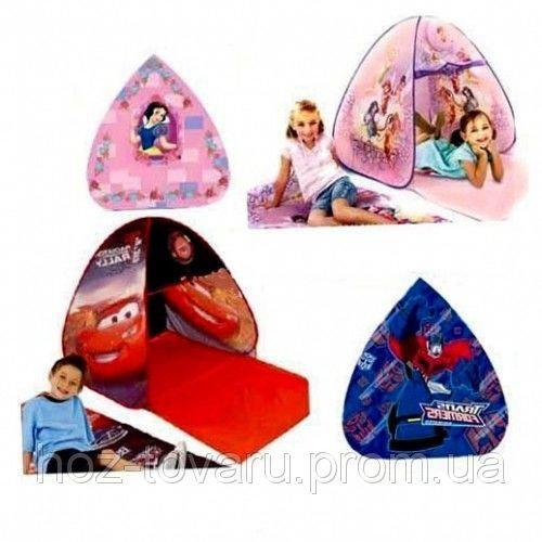 Детская игровая палатка SX016 Даша, Тачки