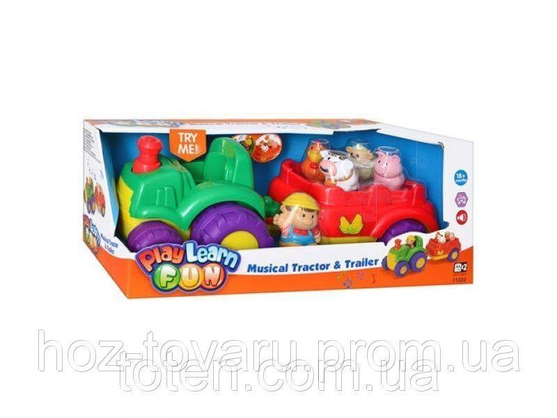 Детская игрушка Трактор с прицепом Keenway  31222