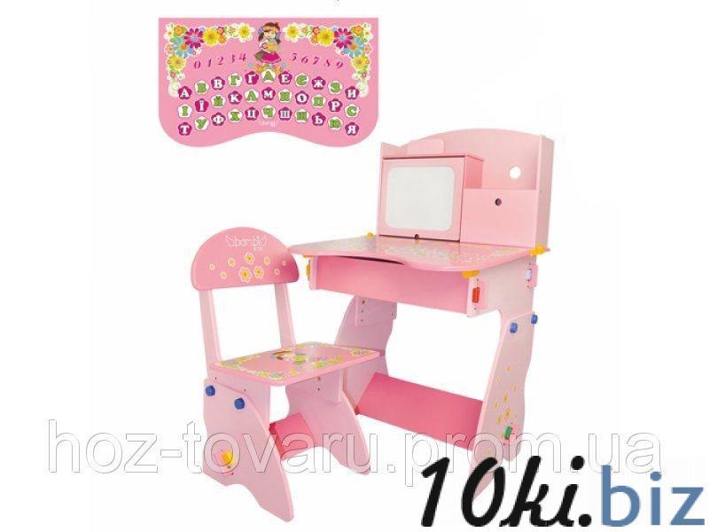 Детская парта Bambi W 071 со стульчиком и досточкой для рисования. купить в Харькове - Парты детские