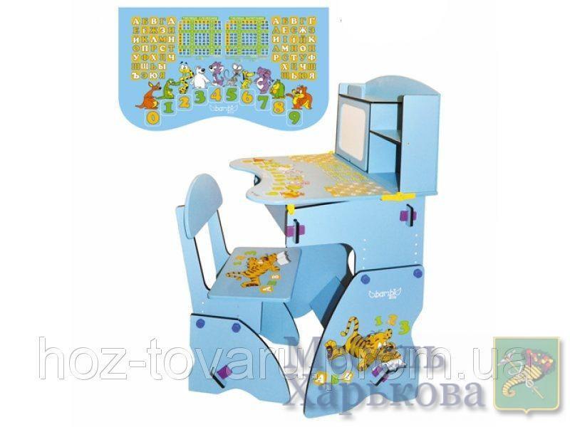 Детская парта-растишка Bambi  W 055 со стулом и мольбертом - Парты детские в Харькове