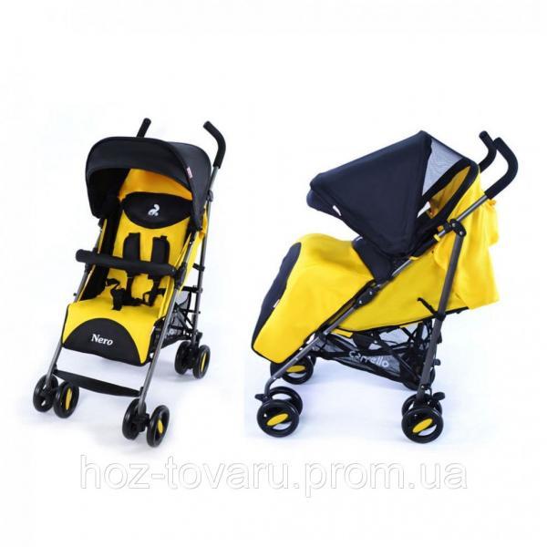 Детская прогулочная коляска-трость CARRELLO Nero CRL-1403 (4 цвета)