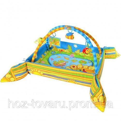 Детский игровой коврик с бортиками Bambi M 1552