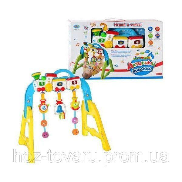 Детский развивающий тренажер Паровоз Joy Toy 7196