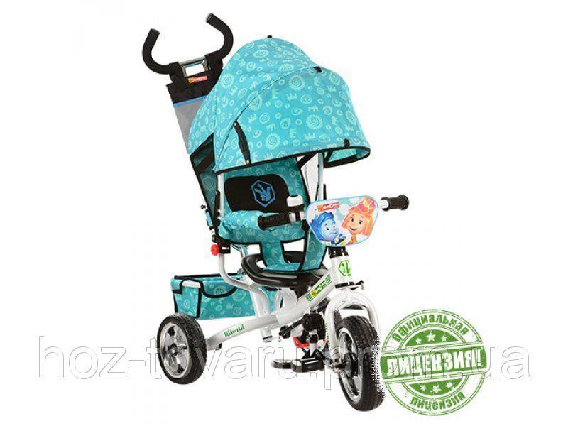 Детский трехколесный велосипед FX 0054 Фиксики, колеса EVA
