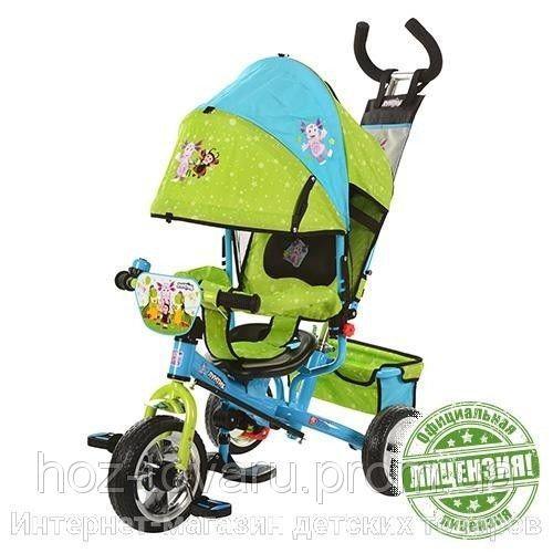 Детский трехколесный велосипед LT 0066-01 Лунтик, колёса EVA Foam