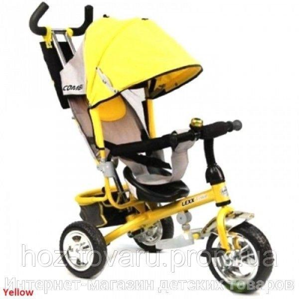 Детский трехколесный велосипед MAXI-Trike QAT-T017 надувные колеса 4 цвета