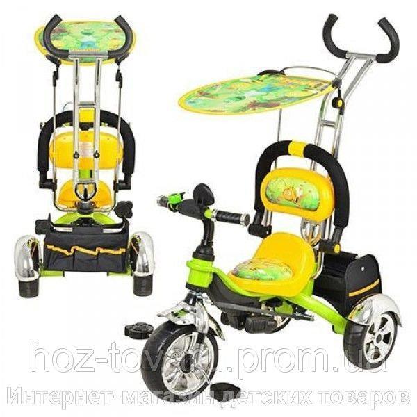 Детский трехколесный велосипед Profi Trike M1690, колеса EVA