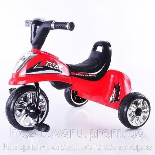 Детский трехколесный велосипед Profi Trike M5343 звук, свет (5 цветов)